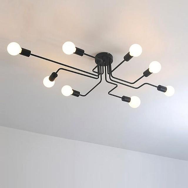 Beste Vintage Decke Lampe Für Esszimmer Lichter Loft Küche Leuchte ...