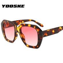 YOOSKE Brand Sunglasses Women Oversized Sun Glasses Female R