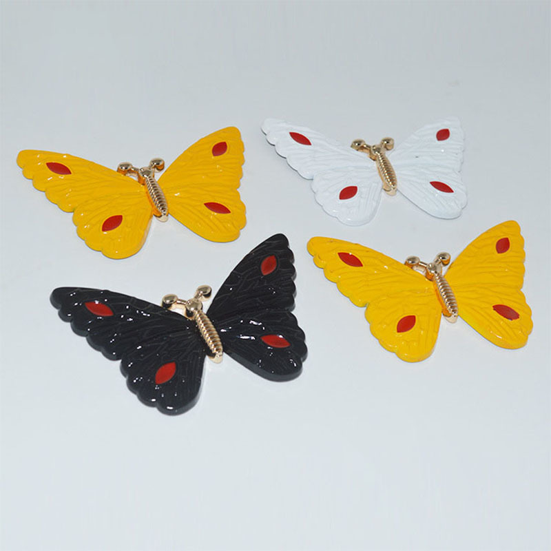 10 Pcs/lot Luggage Hardware Accessories Diy Alloy Colorful Butterfly Decorative Buckle Bag Hardware Accessories Snap Hook