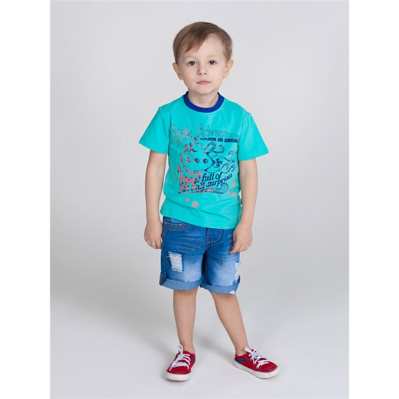 T-Shirts Sweet Berry T-shirt knitted for boys children clothing kid clothes basic multi color stitching irregular hem long t shirts