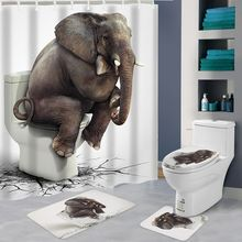Oothandel Elephant Shower Curtain Gallerij Koop Goedkope Elephant