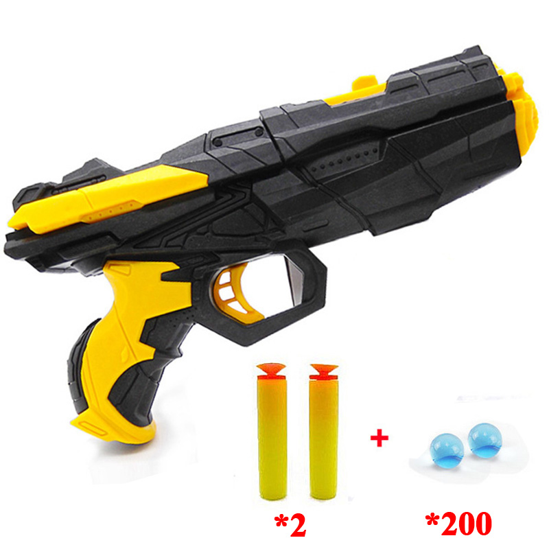 Vente chaude enfants pistolet jouet de l'eau bombe balle molle en gros double-utiliser balle molle pistolet à eau