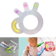 Baby Teething Toys Teether Pacifier Ring Silicone Relief YJS Dropship
