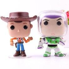 Figura de acción de juguete historia 20th aniversario Woody Buzz Lightyear  Q versión Mini colección modelo 10 cm con caja de ven. 63fb58bc01e