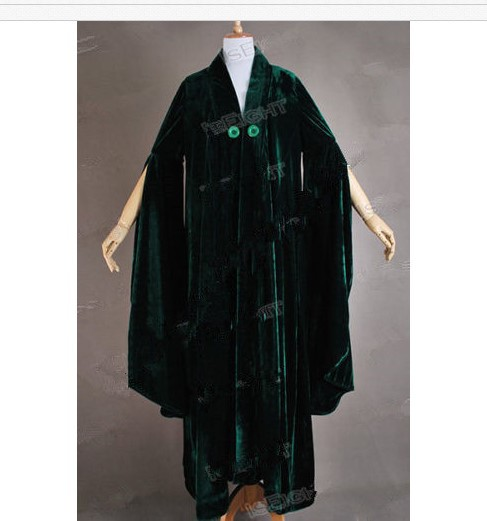 Harry Potter Professor Minerva McGonagall Doll Outfit Gown Witch Robe Shoes NEW