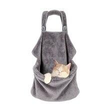 Função múltipla Saco de Portador Do Gato Do Gato Do Cão Macio E Confortável Avental Saco de Dormir ao ar livre Viagem Gatos Pet Fornecimentos Dropshipping