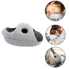 Soft Cotton Plush Nap Pillow Comfortable Neck Pillow Arm Pillows Bedroom Bedding Accessories