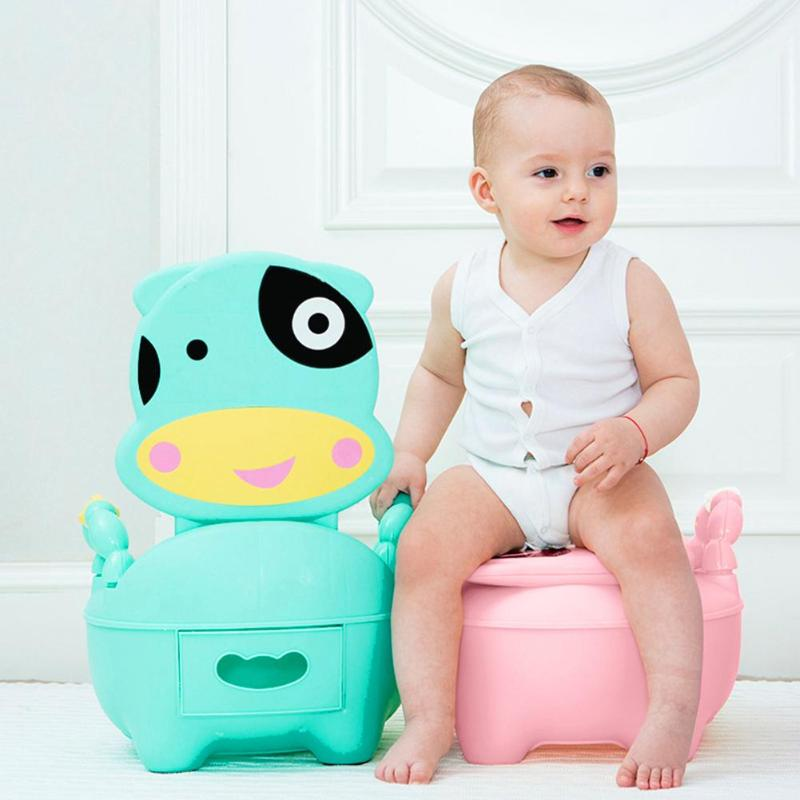 Baby Potty Training Toilet Children Anti-skid Potty Toilet Training Seat Soft Cushion Toddler Urinal Comfortable For Kids Gift
