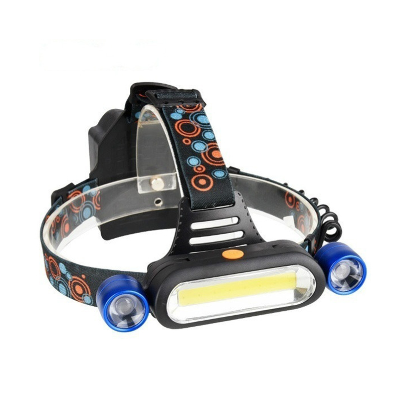 Cob Led Headlamp 4 Modes Waterproof Headlight Head Flashlight Torch Lanterna For Outdoor Camping Night Fishing BlueCob Led Headlamp 4 Modes Waterproof Headlight Head Flashlight Torch Lanterna For Outdoor Camping Night Fishing Blue