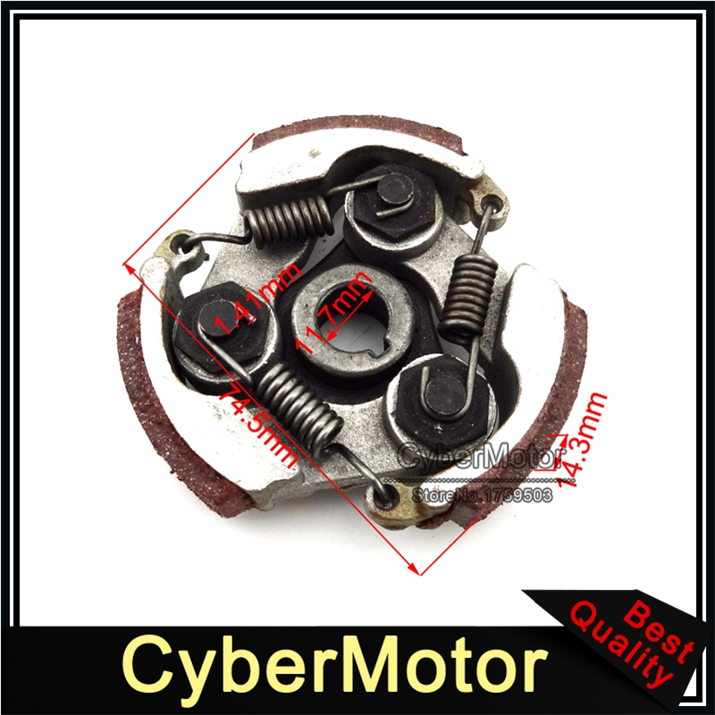 2 x Clutch Pad Spring for 33cc 43cc 47cc 49cc 2 Stroke Mini Bike Scooter ATV