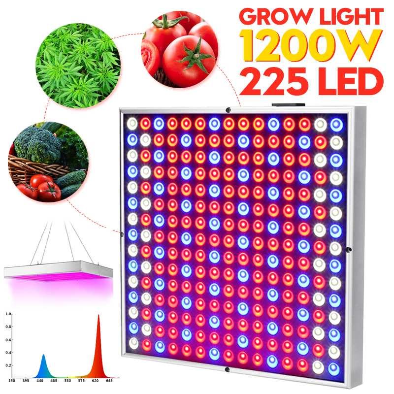 1200 W lampes de culture LED poussent lumière AC85-265V spectre complet plante éclairage Fitolampy pour plantes fleurs culture de semis