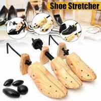 BSAID Unisex 1pcs Shoe Stretcher Wooden Shoes Tree Shaper Rack,Wood Adjustable Flats Pumps Boots Expander Trees Size S/M/L