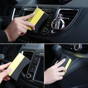 Image 1 - Professional 2PCS Multi functional Car Sponge Cleaning EVA Household Sponge Of Peak Performance Car Accessories