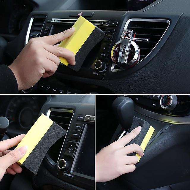 Professional 2PCS Multi functional Car Sponge Cleaning EVA Household Sponge Of Peak Performance Car Accessories
