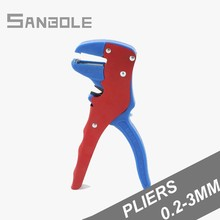 Piler Small-sized Mini- Automatic Peel Wire Cable Stripper Stripping Crimper Electrician Clamp Peeling type 0.2-3mm