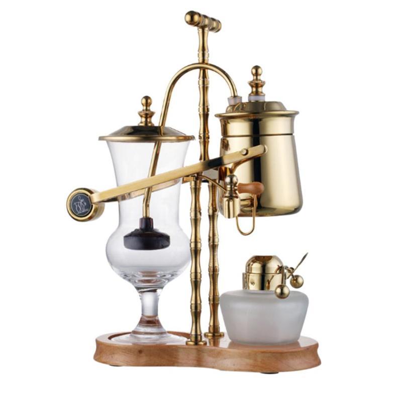 Glass Alcohol Lamp Siphon Water Drop Coffee Machine Vacuum Coffee Maker Pot