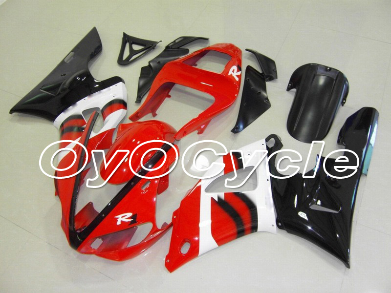 For Yamaha 00-01 YZFR1 YZF-R1 YZF R1 Motorcycle Fairing Bodywork Kit ABS Plastic Injection 2000 2001 Red BlackFor Yamaha 00-01 YZFR1 YZF-R1 YZF R1 Motorcycle Fairing Bodywork Kit ABS Plastic Injection 2000 2001 Red Black