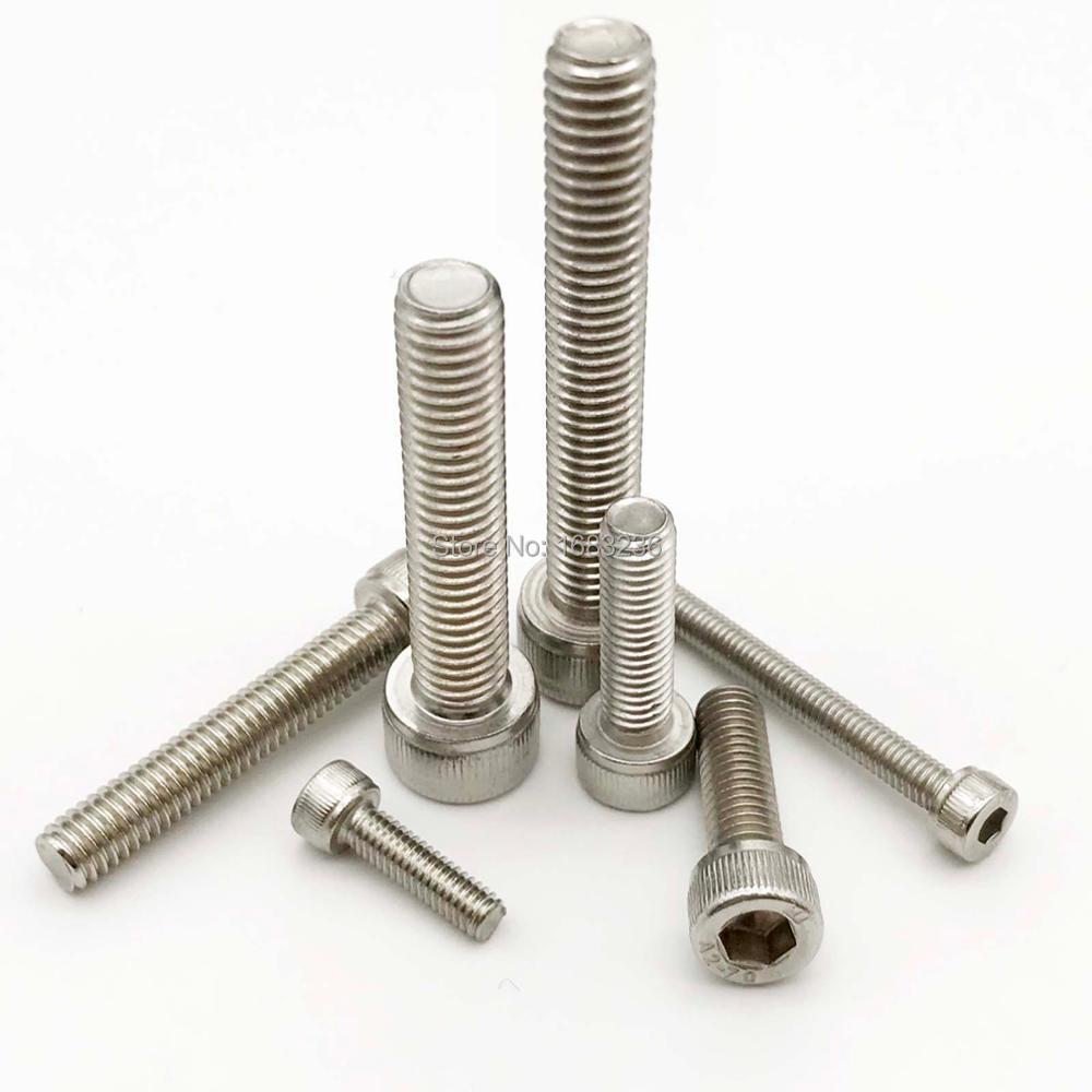 M6 x 35 Titanium Ti Bolts Hexagon 8mm Hex Head Flange Screw 2//5//8pcs