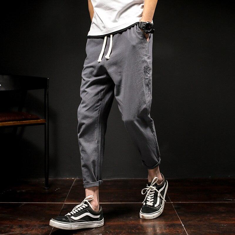Ingenious New Fashion Japanese Cotton Trousers Men Skateboard Casual Wear Hip Hop High Street Haren Pants Men Casual Wear Jogger Pants Men Elegant Shape Men's Clothing