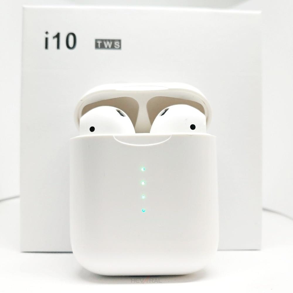 I10 TWS Bluetooth 5.0 i9s TWS Écouteurs écouteurs sans fil Tactile Charge Le Contrôle Sans Fil De Charge Binaural Appelant