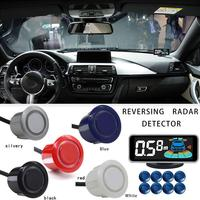 Car Parktronic Backlight Display LED Parking Sensor 8 Reverse Sensors Backup Car Parking Radar Monitor Detector System