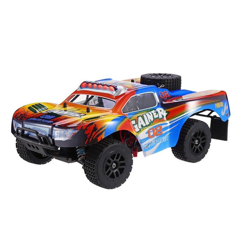 C603 1/16 2.4G 4WD haute vitesse 60 km/h quatre roues Suspension indépendante voiture RC 2.4g système radio brosse voiture RC 2019 nouveau
