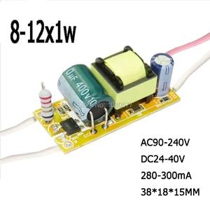 Image 5 - Pcs LED Driver Atual Constante fonte de Alimentação Da Lâmpada 280mA 2 300mA 1W 3W 5W 7W 9W 10W 20W 30W 36W 50W Isolamento Transformador de Iluminação