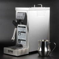 200 240VFully automatic Professional milk steamer with temperature setting/stainless steel milk frother machine WPM WELHOME PRO
