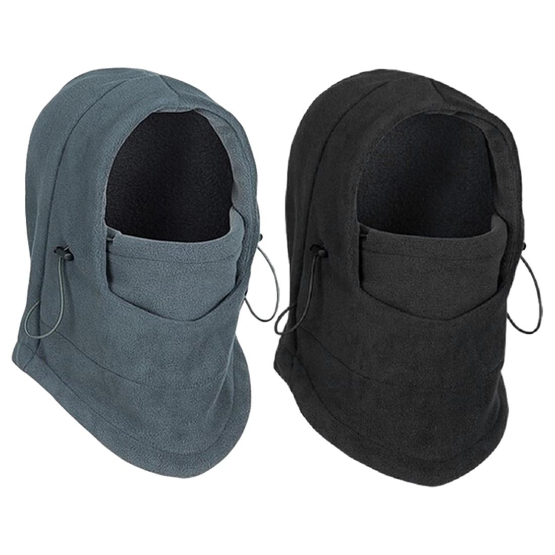 New Balaclava Hat Hooded Neck Warmer Winter Sports Face Mask For Men Ski Bike Motorcycle Helmet Beanies Masked Cap