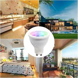 5W LED SpotlightBulb Lamp RGB CCT AC100-240V Wireless Dimmable Remote Controller Smart Led Light RGB Doublewhite With ZigBee