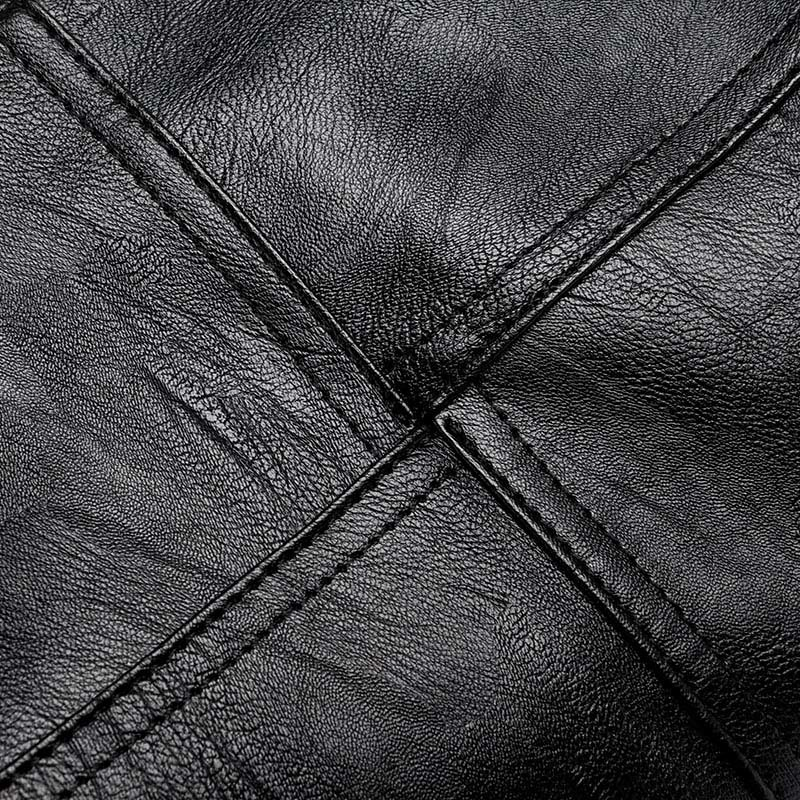 Image 4 - 2019 New Ladies Hand Bag Women's Genuine Leather Handbag Black Tote Bag Bolsas Femininas Female Shoulder Bag Leather Women-in Top-Handle Bags from Luggage & Bags
