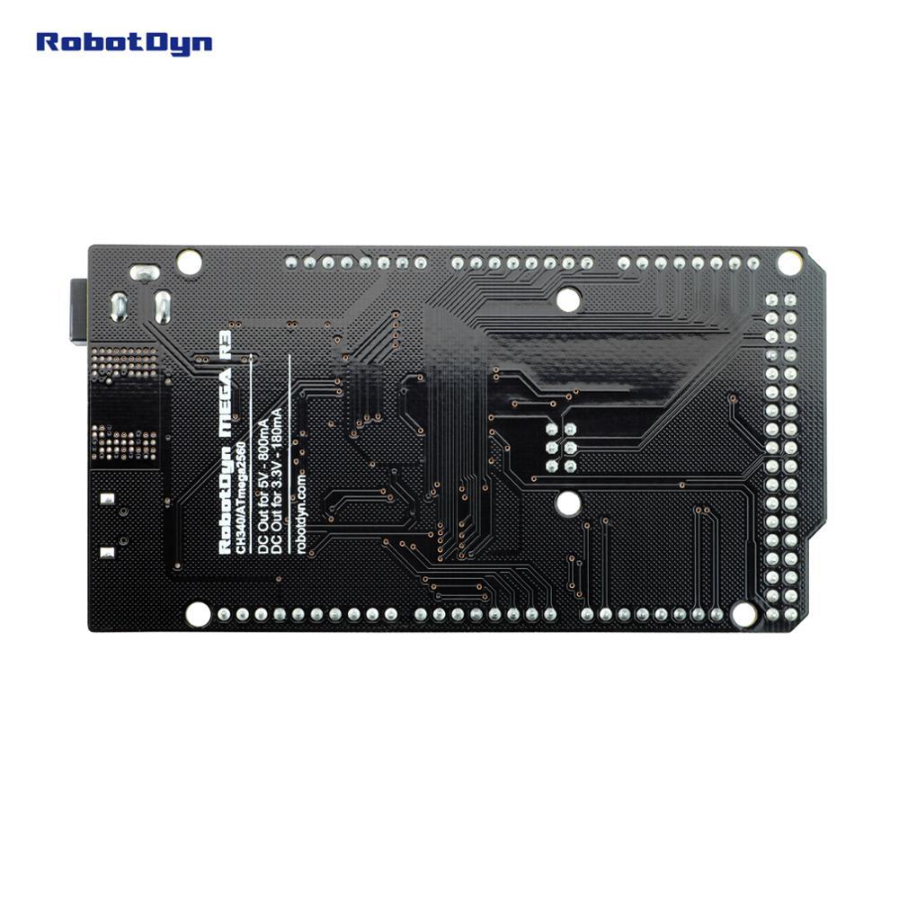 Mega 2560 R3 CH340G/ATmega2560-16AU, MicroUSB. Compatible con Arduino Mega 2560. Con cargador de arranque.