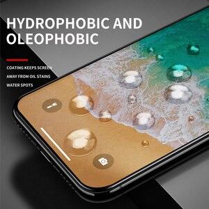 Image 4 - IHaitun verre de luxe 6D pour iPhone 11 Pro Max X XS MAX XR protecteur décran en verre trempé incurvé pour iPhone XS 10 7 8 Plus Film de couverture complète SE SE2 2020