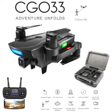 CG033 GPS Brushless RC Quadcopter With 1080P HD FPV WIFI Gimbal Camera/No Camera Altitude Hold Foldable RC Drone Helicopter ZLRC f09990 tarot t 2d 2 axle brushless gimbal camera ptz mount fpv rack tl68a08 for gopro hero3 diy fpv rc multicopter drone