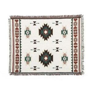 Image 2 - Multi Function Home Decor Aztec Navajo ผ้าขนหนูผ้าฝ้ายเก้าอี้โซฟาผ้าห่มพรมพรมสิ่งทอแขวนผนังตกแต่ง