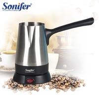 Stainless Steel Coffee Machine Turkey Coffee Maker Electrical Coffee Pot Kettle Sonifer