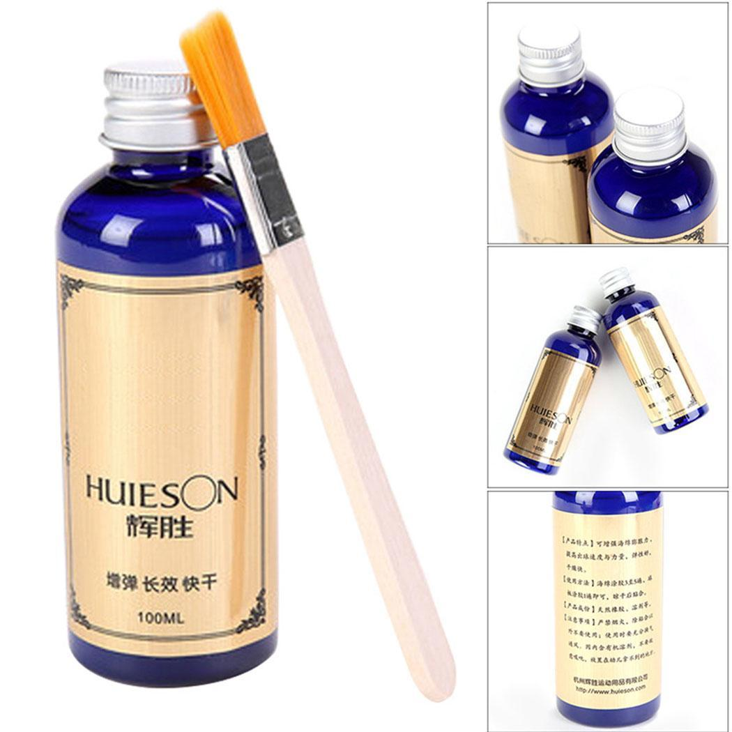Table Tennis Liquid Glue 100ml With Special Brush Racket Glue Quick Dry Organic Rubber Gum For Ping Pong Racket Rubbers