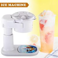 Snow Cone Maker Ice Electric Shaved Ice Maker For Cool Summer Treats 220V European Standard Plug Ice Maker Ice Cream Party