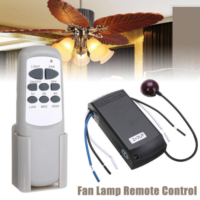 Home Lamp Universal Digital Wireless Ceiling Fan Light