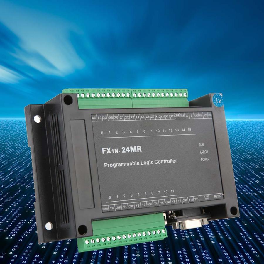 motor speed controller Industrial Control Board FX1N 24MR 14 Input 10 Output 24V 5A motor regulator