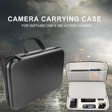 Action Camera Carrying Case Portable Storage Bag For Insta360 ONE X 360 Shock-Proof Accessories