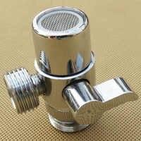 High Quality Faucet Splitter Bathroom Sink Valve Home Adapter Diverter Brass Water Tap Kitchen