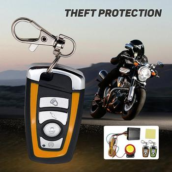 Motorcycle Scooter Alarm System - Anti Theft
