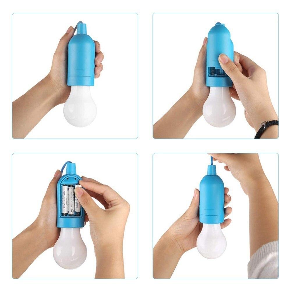 5 colors/set Mini Portable Lantern Tent Light LED Bulb Emergency Lamp Waterproof Hanging Hook Flashlight For Camping 3*AAA