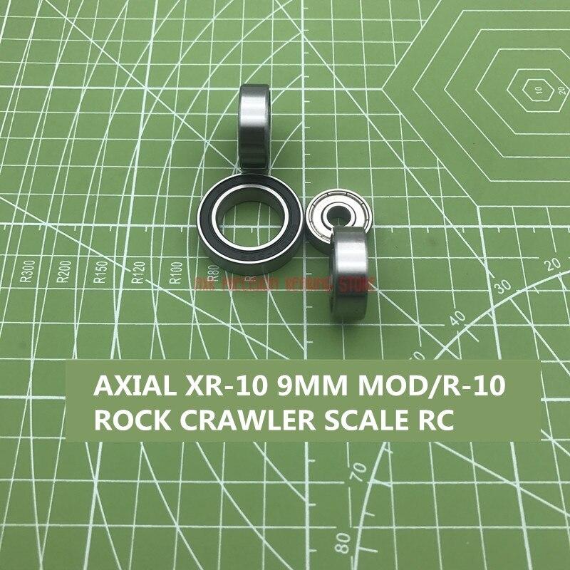 2019 réel livraison gratuite un ensemble de Xr-10 axiaux 9mm Mod/r-10 roche échelle de chenille modèle Rc roulement de voiture seule colonne Rodamientos