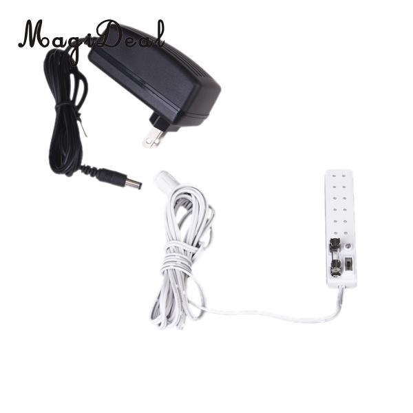 Friendly 1pc 1/12 Scale Dollhouse Miniature 6 Eeceptacles Power Strip Socket Transform Furniture Accessories Toy 12v Pretend Play
