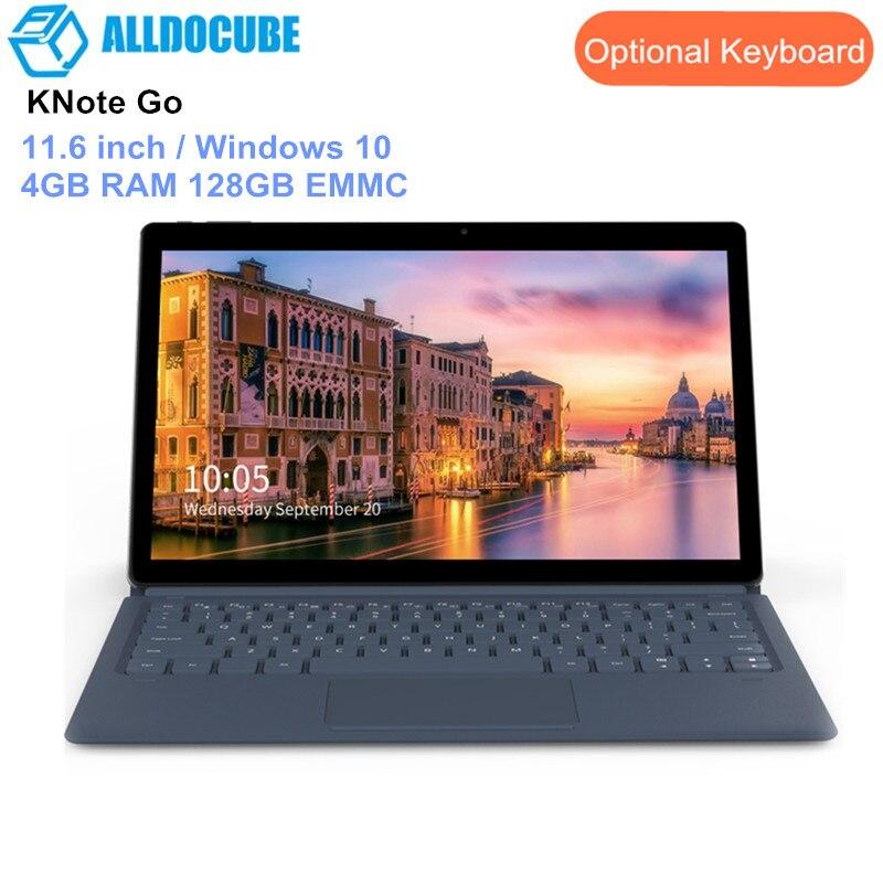 Tablettes ALLDOCUBE KNote Go 2 en 1 tablette PC 11.6 pouces Windows 10 Intel Apollo Lake N3350 Quad Core 4 GB RAM 128 GB EMMC 5MP HDMI