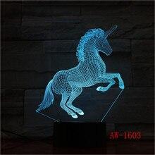 Unicornio 7 colores cambio