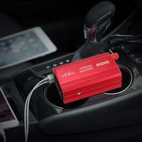 300W Power Inverter DC 12V to 110V AC Power Adapter with Dual AC Outlet and 4.8A USB Charger Port