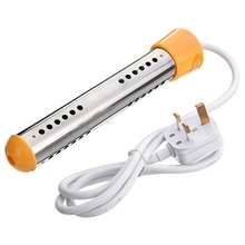 Floating Electric Heater Boiler Water Heating Portable Immersion Suspension Bathroom Swimming Pool Uk Plug Wire Control 2000W